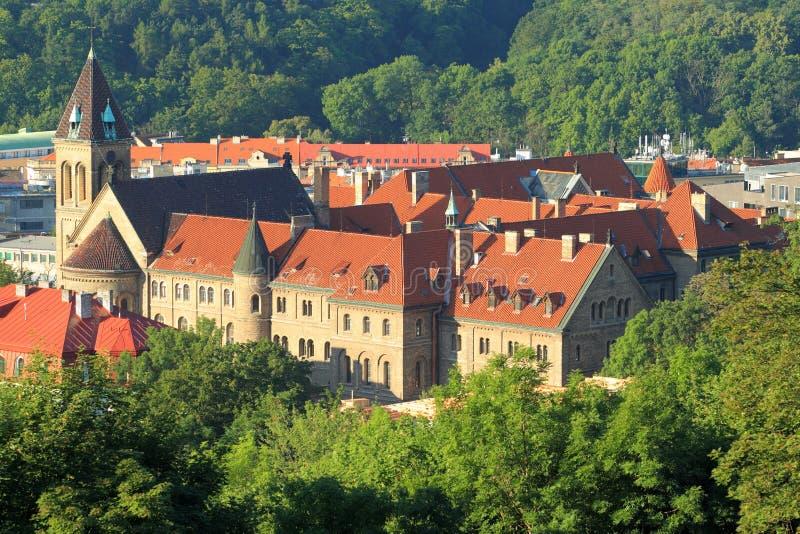 Praga - igreja de Gabriel de Saint fotografia de stock