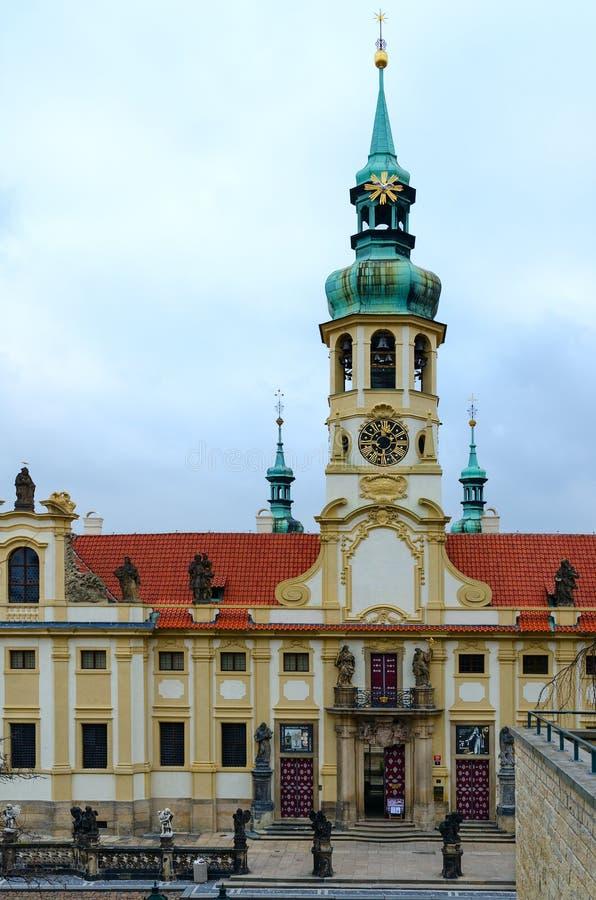 Praga Loreta kościół narodzenie jezusa władyka, Praga, republika czech zdjęcia royalty free