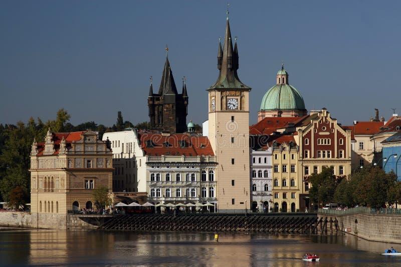 Praga - melenas imagen de archivo