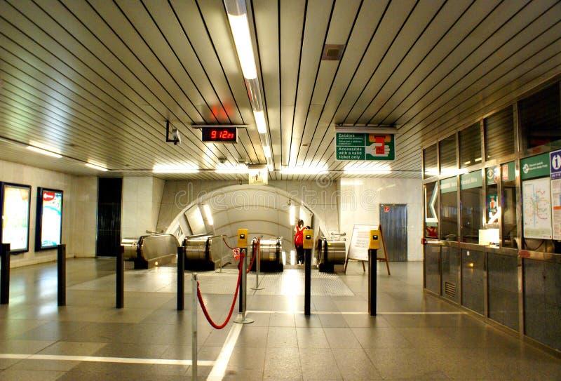 Praga metro obrazy royalty free