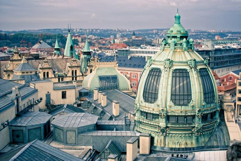 Praga miasto fotografia royalty free