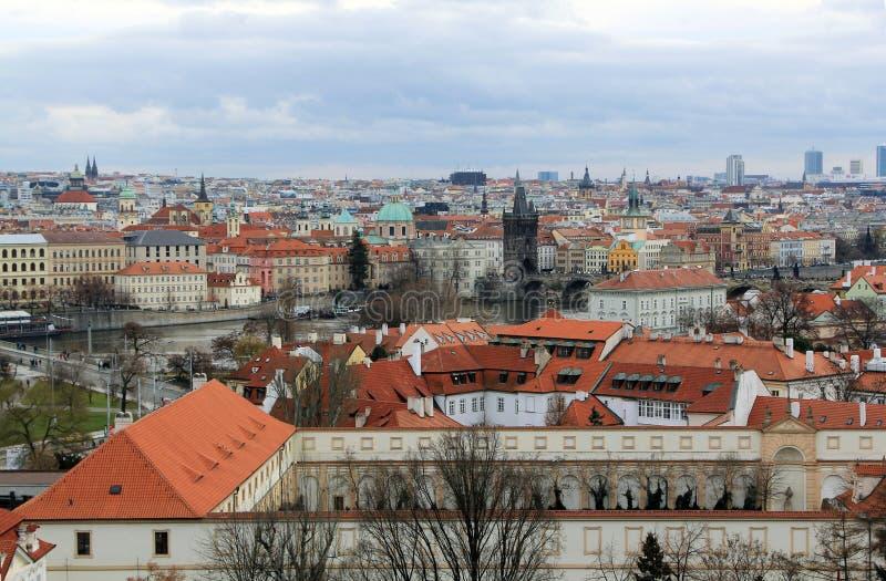 Praga miasto zdjęcie stock