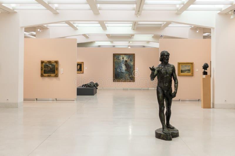 Praga muzeum obrazy stock