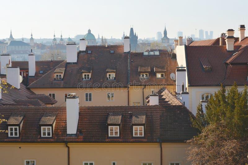 Praga na primavera fotografia de stock royalty free