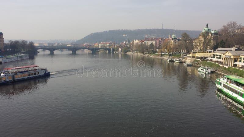 Praga nella sua bellezza fotografia stock