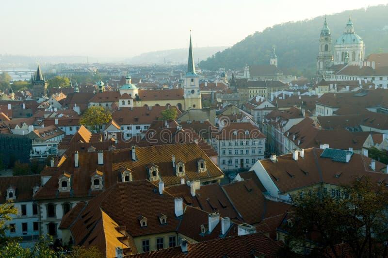Praga - planu widok obrazy stock