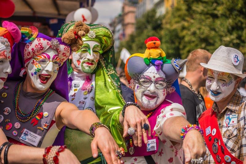 Praga Pride Parade imagenes de archivo