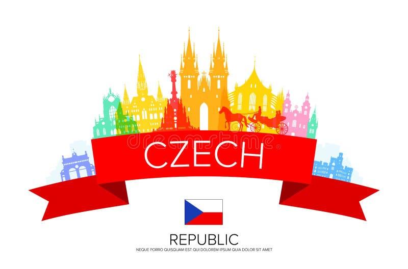Praga, República Checa libre illustration