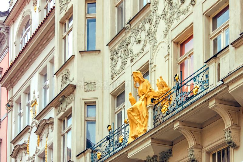 PRAGA, REPÚBLICA CHECA - em junho de 2010 imagens de stock royalty free