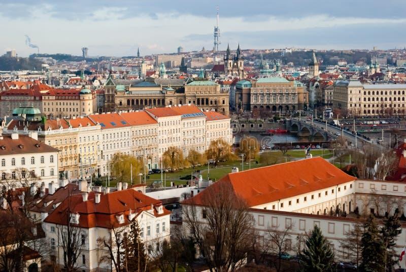 Download Praga, república checa imagem de stock. Imagem de panoramic - 29833533