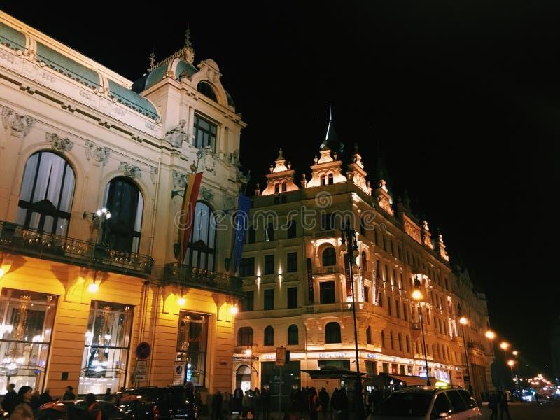 Praga, republika czech obraz royalty free