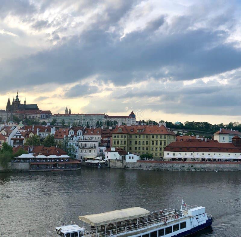 Praga Skyline obraz stock