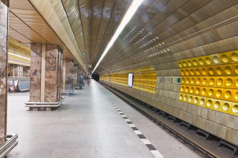 Praga subterráneo, textura checa de la pared de Republich foto de archivo libre de regalías