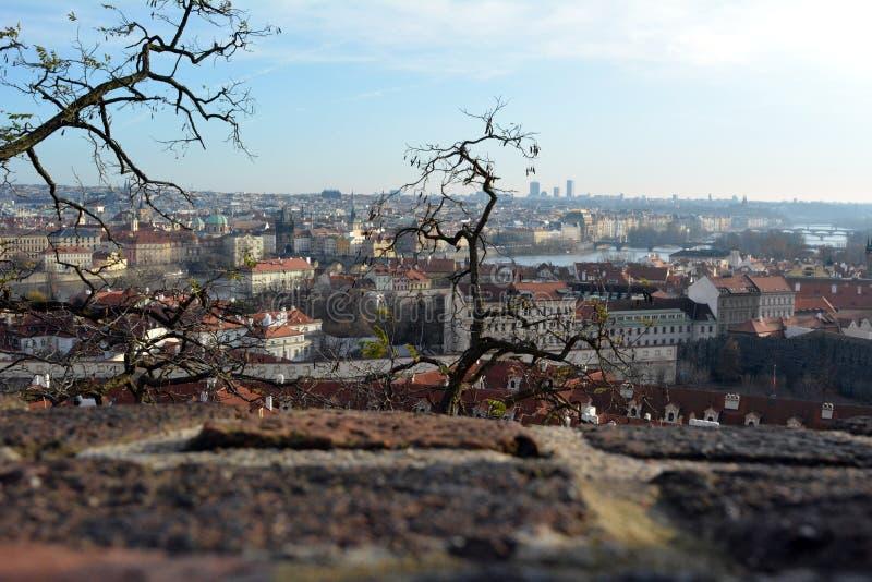 praga Vista de la ciudad imagen de archivo