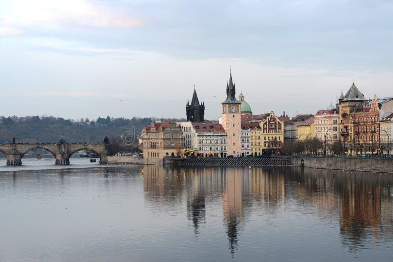 Praga. Vistas de la ciudad imagenes de archivo