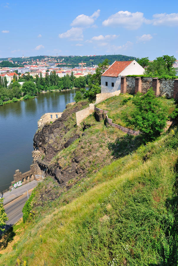 Praga, Vysehrad imagens de stock royalty free