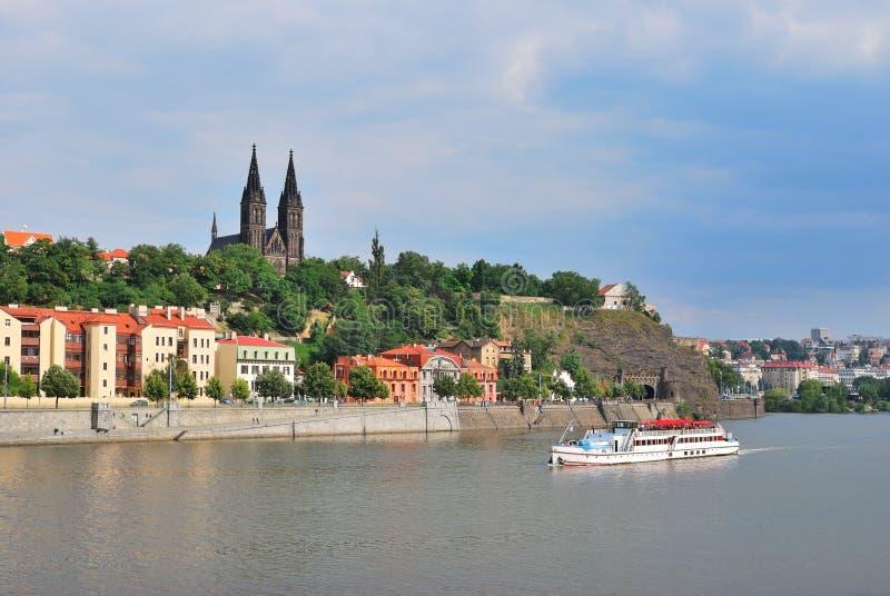 Praga, Vysehrad imagenes de archivo