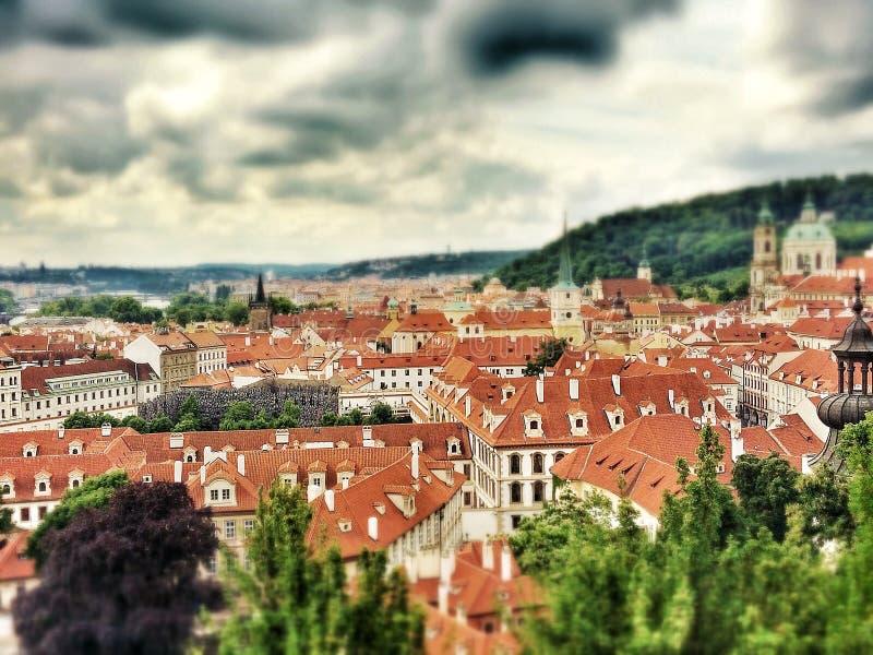Praga w Czerwu obrazy royalty free