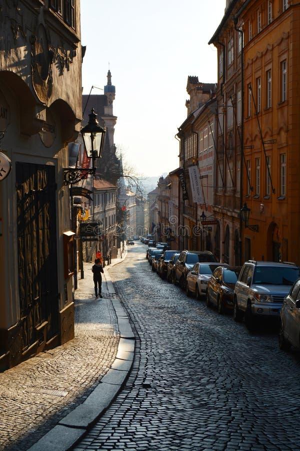 Praga wiosną obraz royalty free