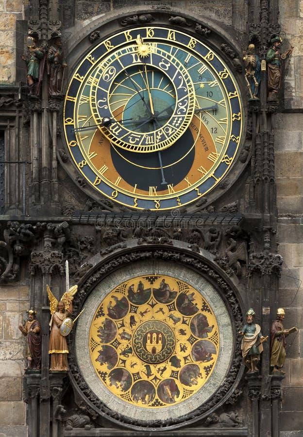 Praga zegarek zdjęcia royalty free