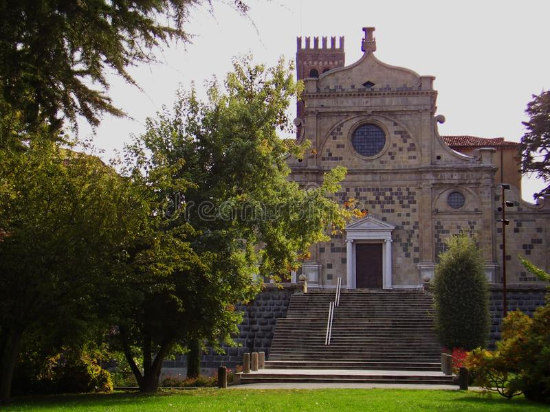 Praglia,帕多瓦,威尼托修道院  E 库存图片