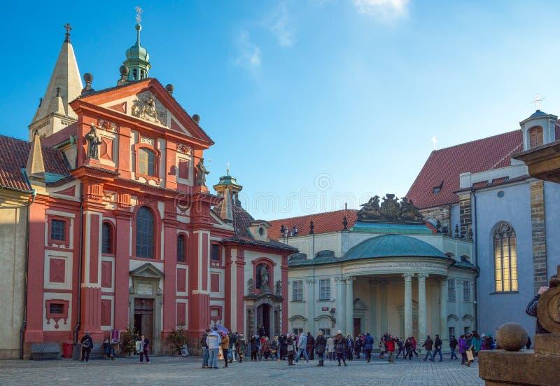 Prague arkivbild