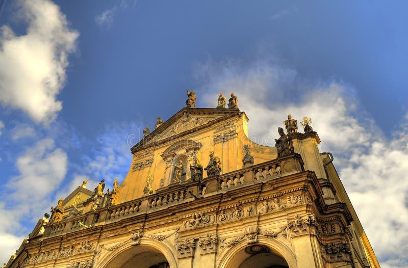 Prague architechture royalty free stock photos