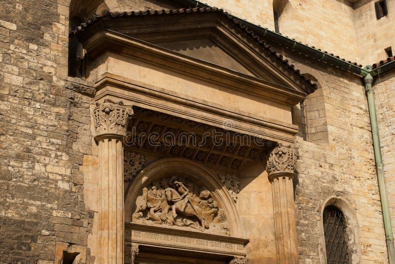 Prague Architectures. Royalty Free Stock Photo