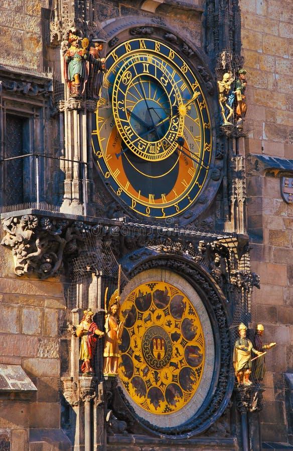 Download The Prague Astronomical Clock Stock Image - Image: 18942347