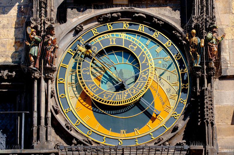 Download Prague astronomical clock stock photo. Image of architecture - 21916952
