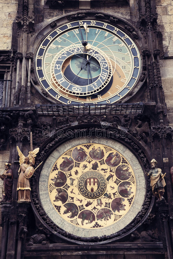 Download Prague Astronomical Clock stock photo. Image of ancient - 24142618