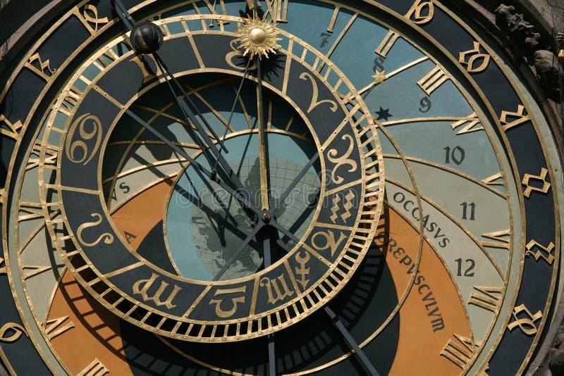 Download Prague Astronomical Clock stock photo. Image of culture - 9737642
