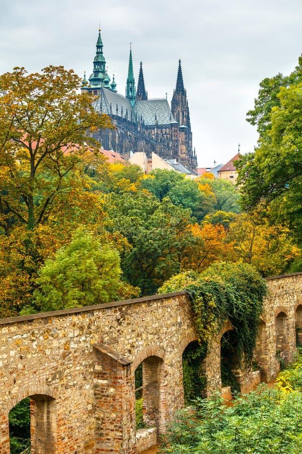 Free Prague Autumn Landscape With Saint Vitus Cathedral Royalty Free Stock Photo - 72770905