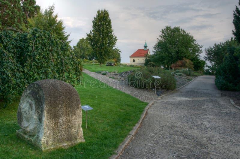 Prague Botanic Garden royalty free stock photo