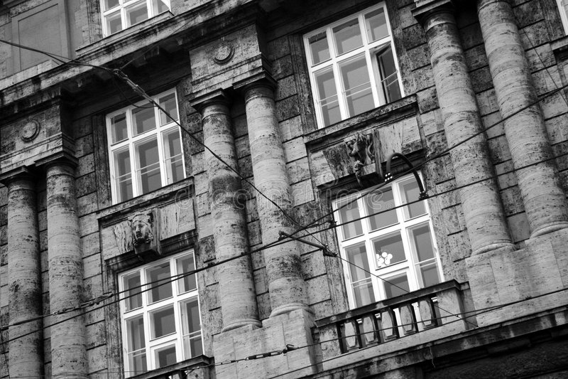 Prague buildings stock photography