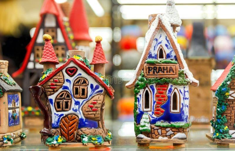 prague Cadeaux et souvenirs photos stock