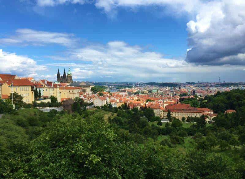 Prague, capitale de la République Tchèque photo stock