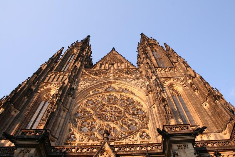 Prague castle. A famous touristic place stock photography