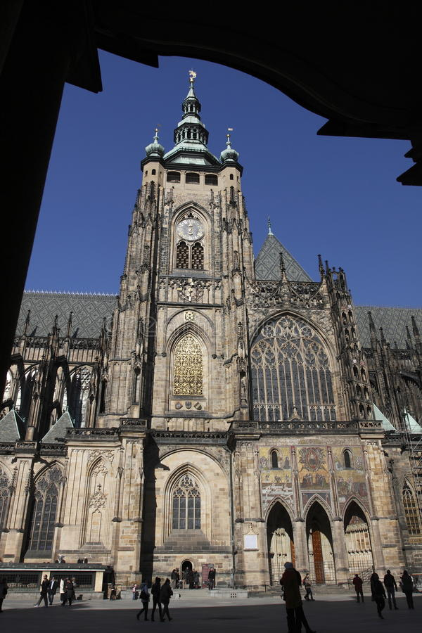 Download Prague Castle editorial stock image. Image of cathedral - 18257614