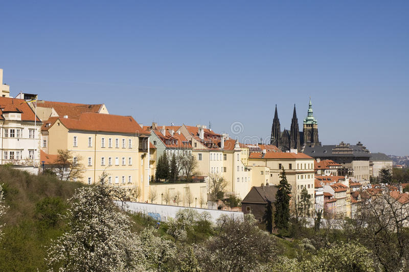 Download Prague castle stock image. Image of mala, subject, wenceslas - 26825255