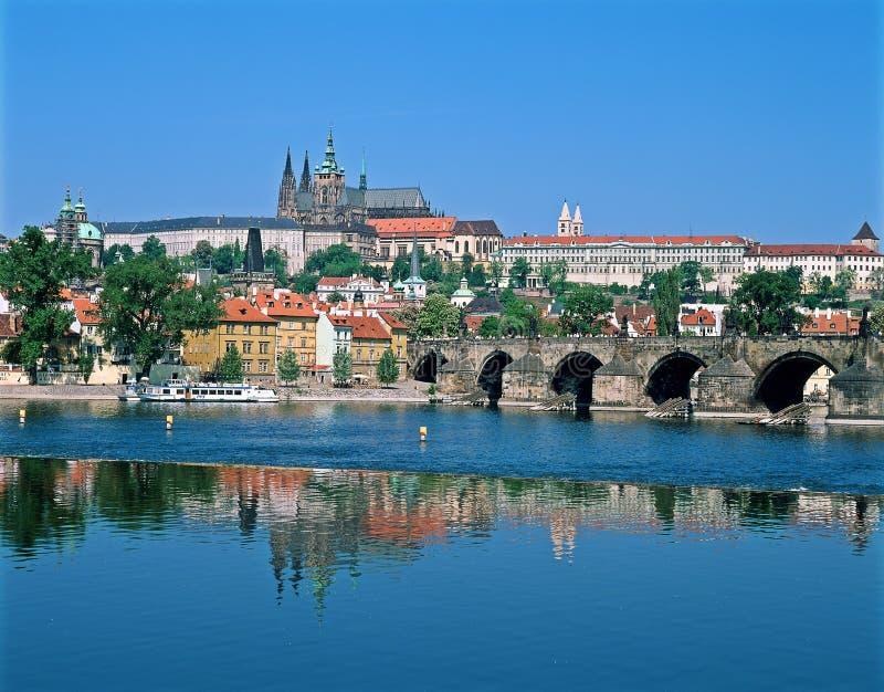 Download Prague Castle Across The River Vltava Stock Images - Image: 10928434