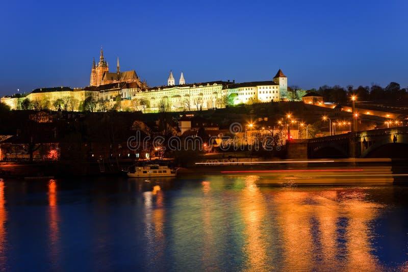 Download Prague Castle at night stock photo. Image of praha, palace - 11097848