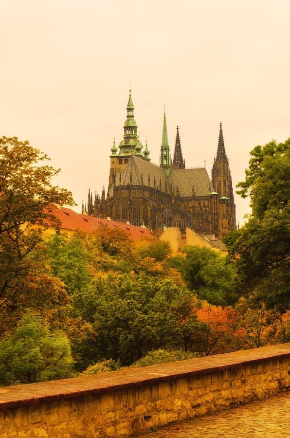 Prague Castle, old city royalty free stock photos