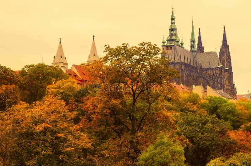 Prague Castle, old city royalty free stock photo