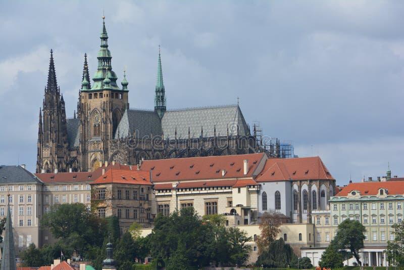 Prague Castle (Pražský hrad) in Prague stock photo