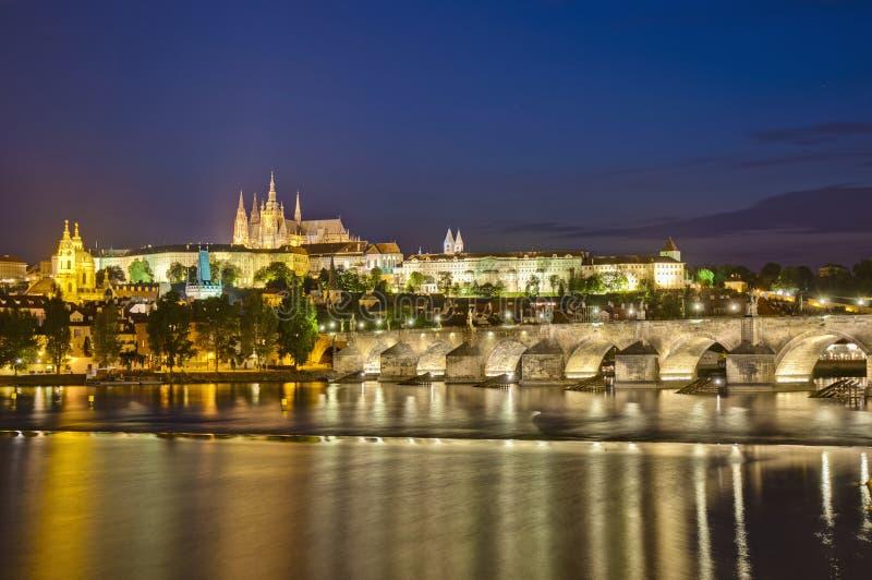 Download Prague Castle And Vltava River Stock Photography - Image: 20392522