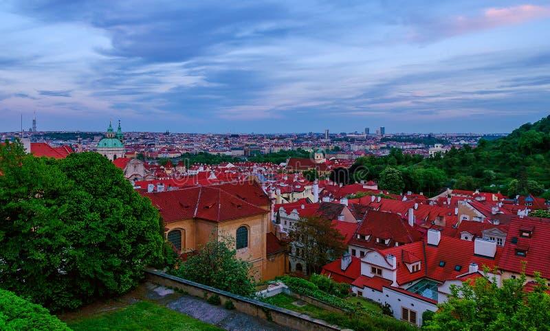 Prague cityscape stock photography
