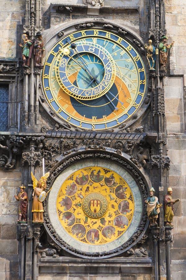 Download Prague clock stock image. Image of building, clock, castle - 26998303