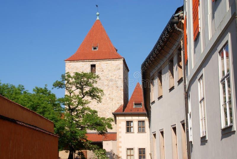 Prague,Czech Rep: Castle District stock photo