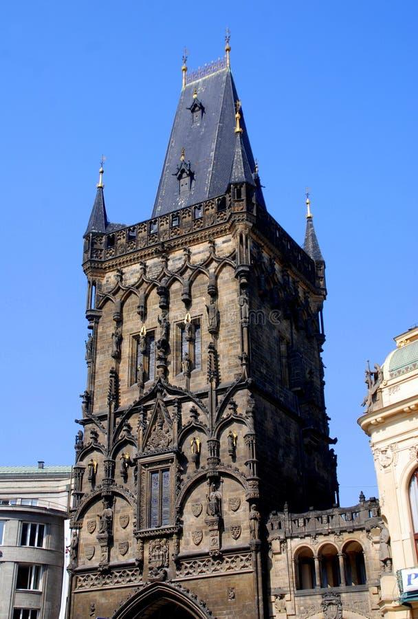 Prague, Czech Rep: Powder Gate Editorial Image
